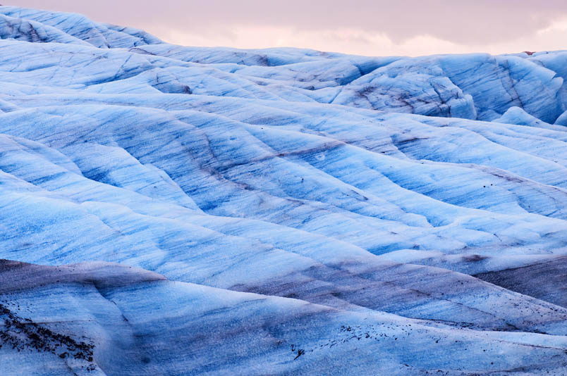 Early morning glacier - Iceland