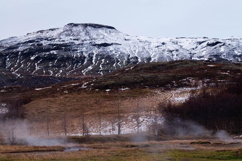 Thermal vents - Geysir - Iceland