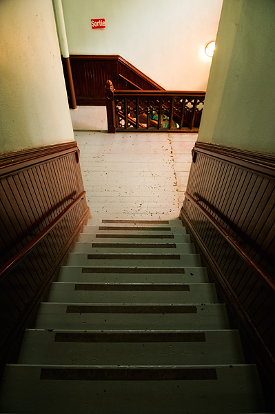 Stairway - Montreal - Quebec