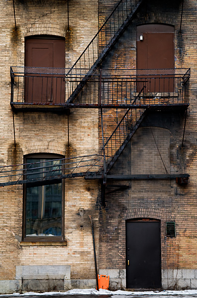 Fire Escape - Montreal - Quebec