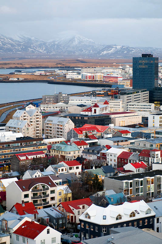 View from Church Tower - Reykjavik - Iceland
