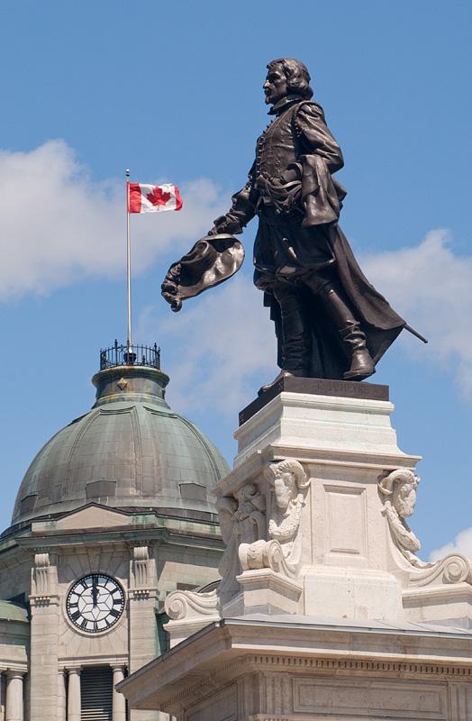 Samuel de Champlain - Quebec City - Quebec