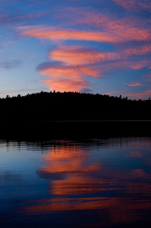 Sunset Clouds - Temagami - Ontario