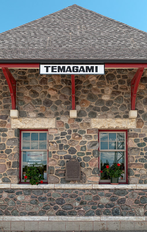 Train Station - Temagami - Ontario