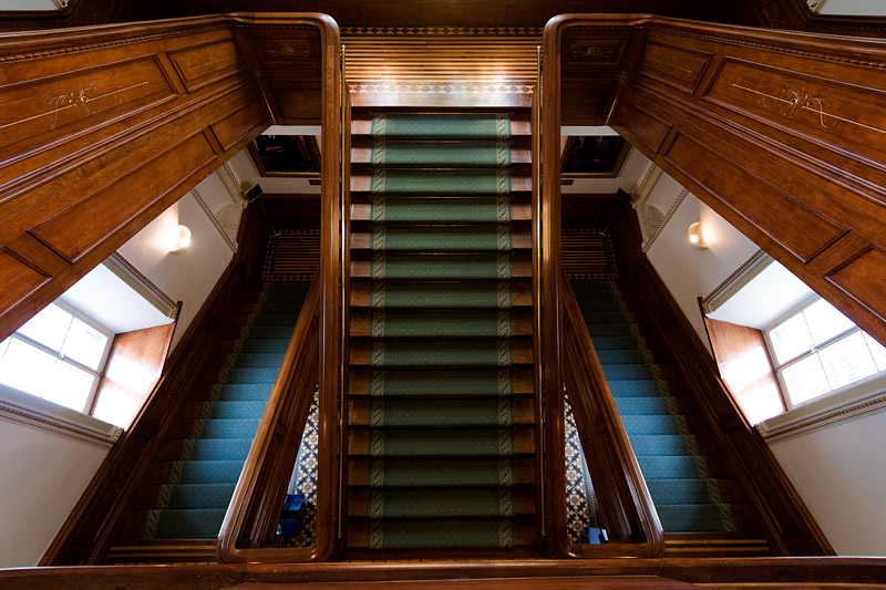 Stairs - Parliament Building - Quebec