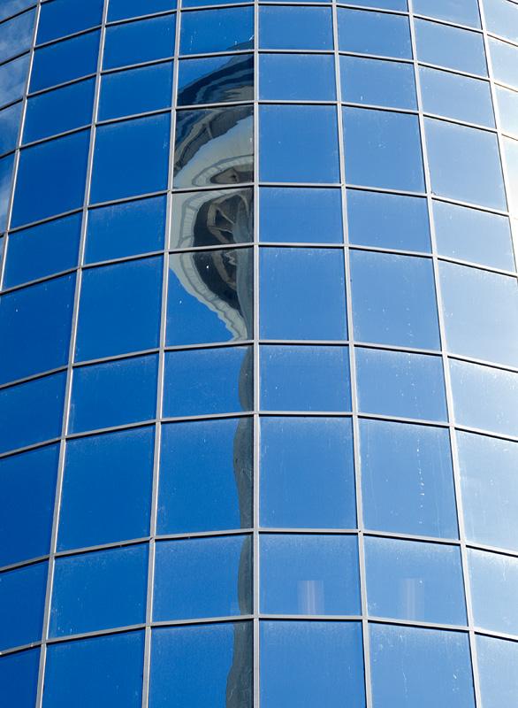 CN Tower Reflection - Toronto - Ontario