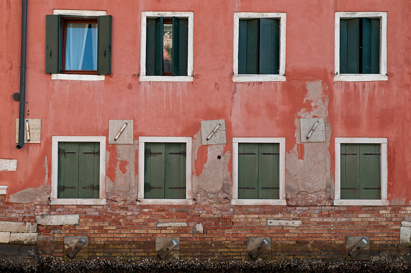 Windows - Venice - Italy