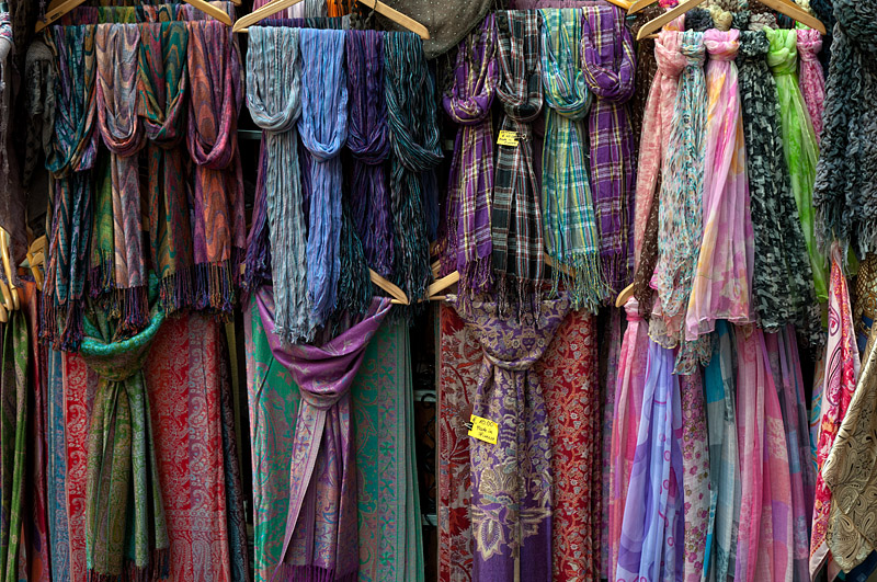 Scarves - Florence - Italy