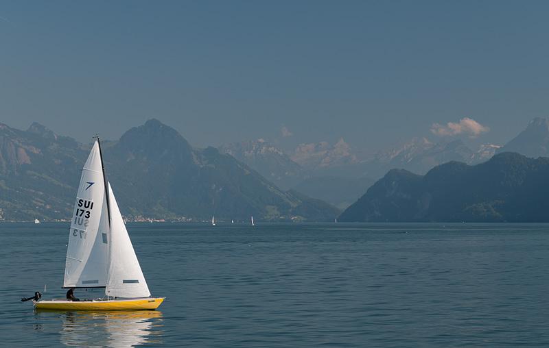 Sailboat - Lake Lucerne - Switzerland