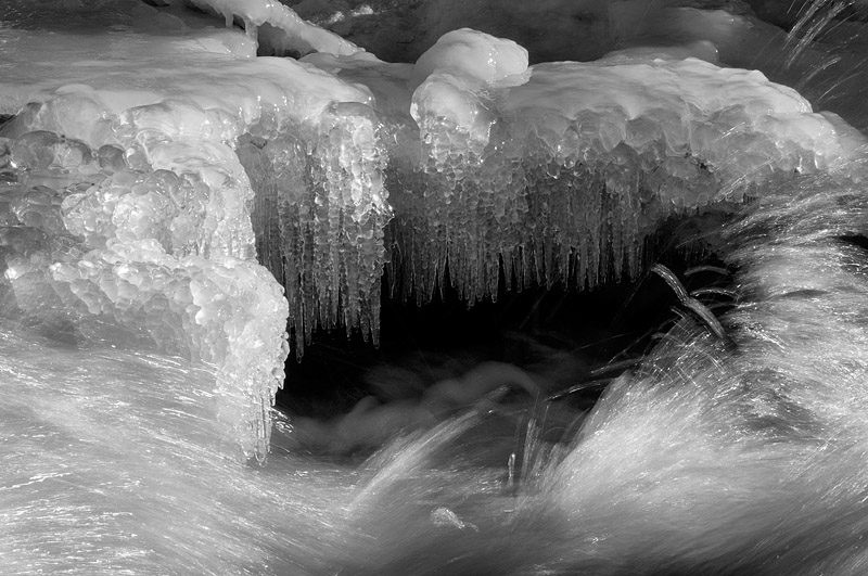 Ice - Duchesnay Falls - North Bay