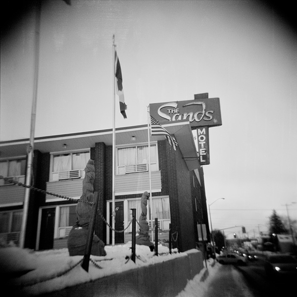 The Sands Motel - North Bay - Ontario