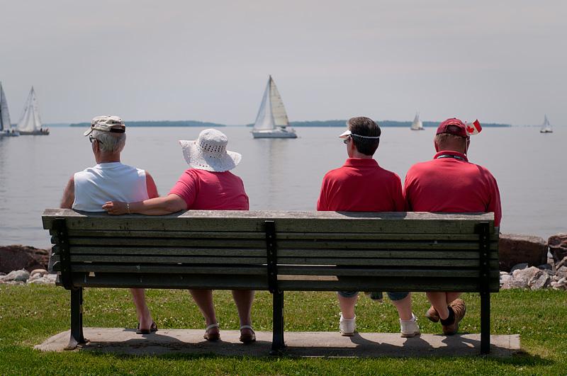 Resting - North Bay - Ontario