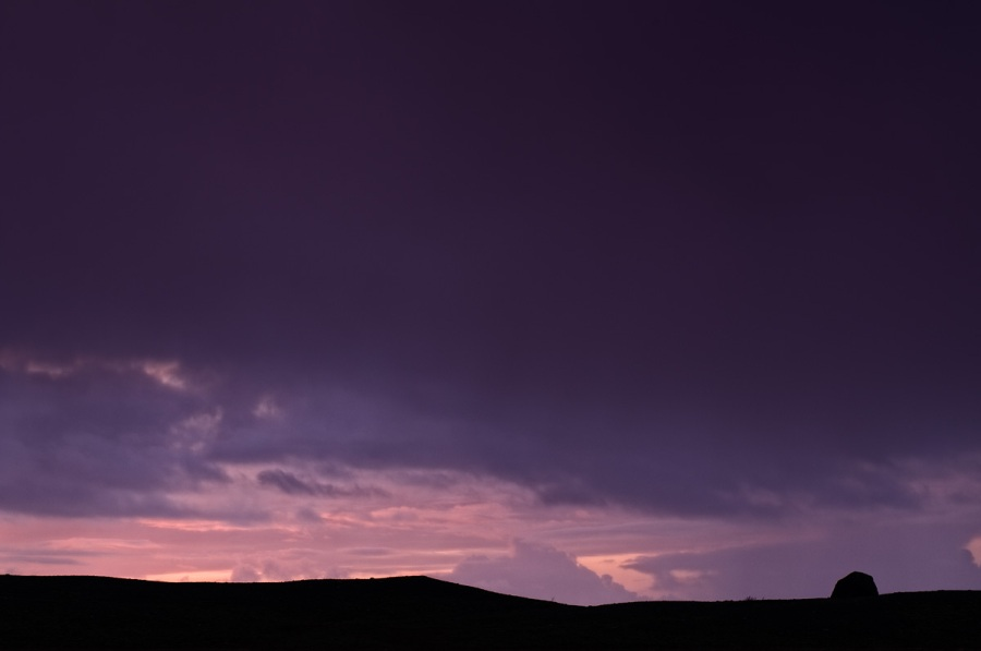 Silhouette Landscape - Iceland