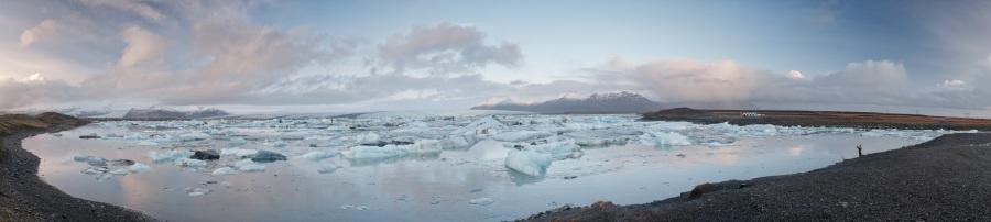 Panorama - Jökulsárlón - Iceland