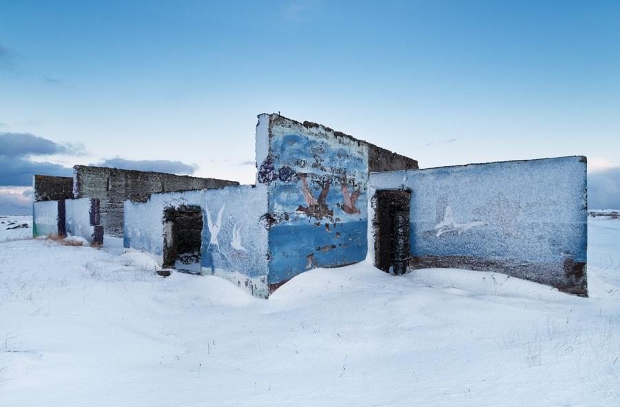 Abandoned Building - Iceland