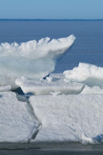 Ice - Lake Nipissing - North Bay