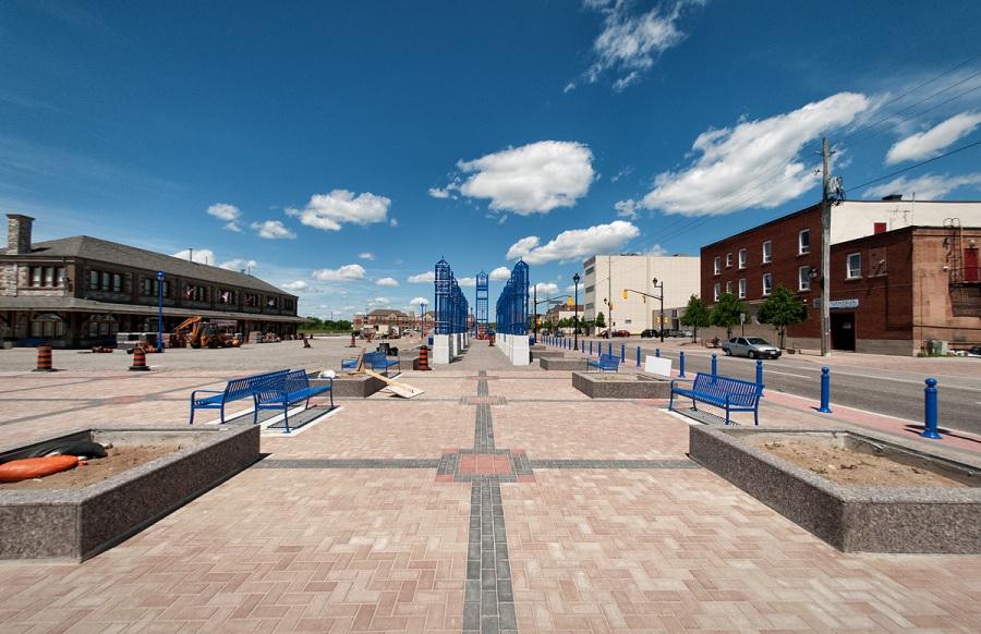 Civic Plaza - North Bay - Ontario