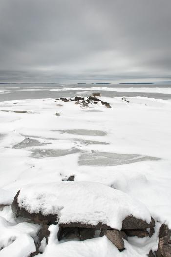Ice - North Bay - Ontario