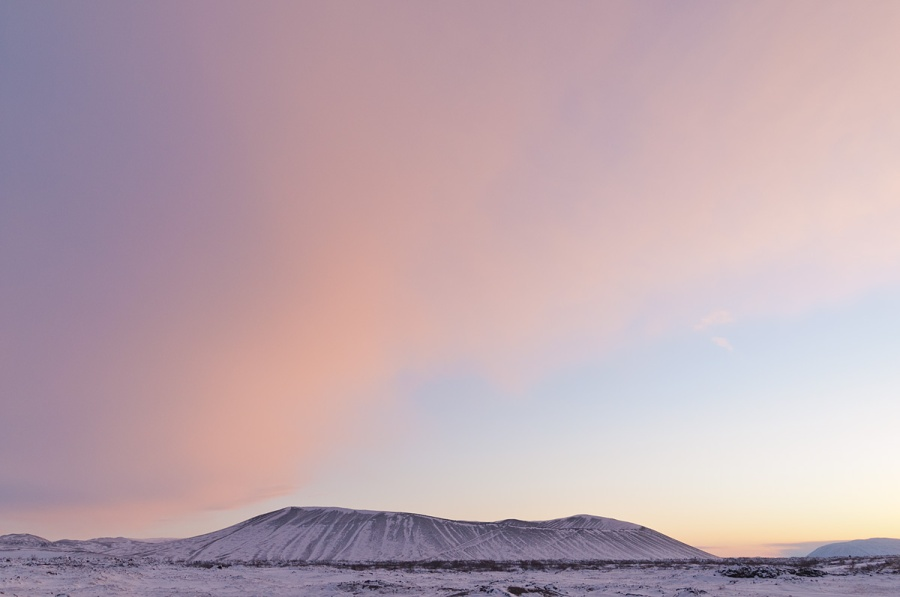 Hverfjall Crater - Iceland