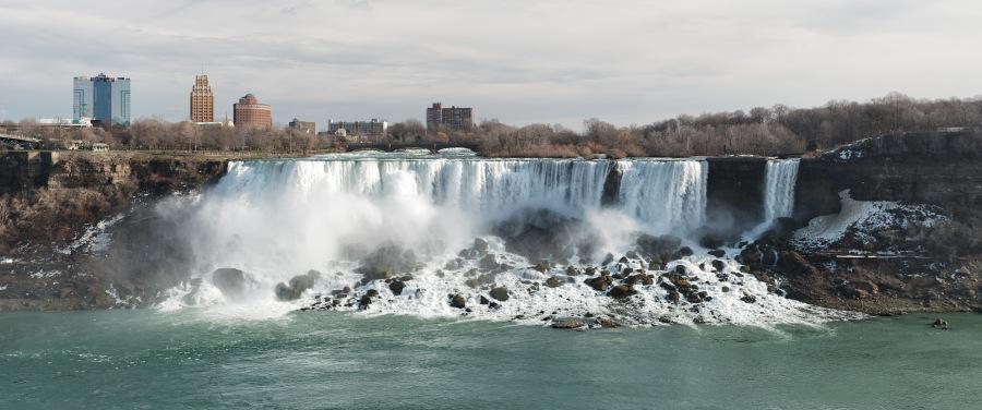 Falls Pano - Niagara Falls - Ontario