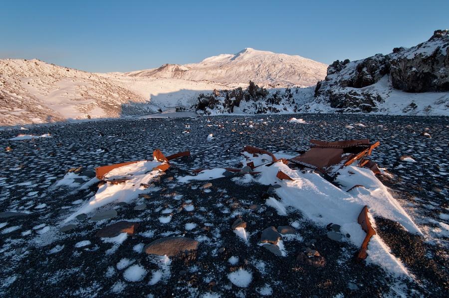 Ship Wreck - Dritvik Beach - Iceland
