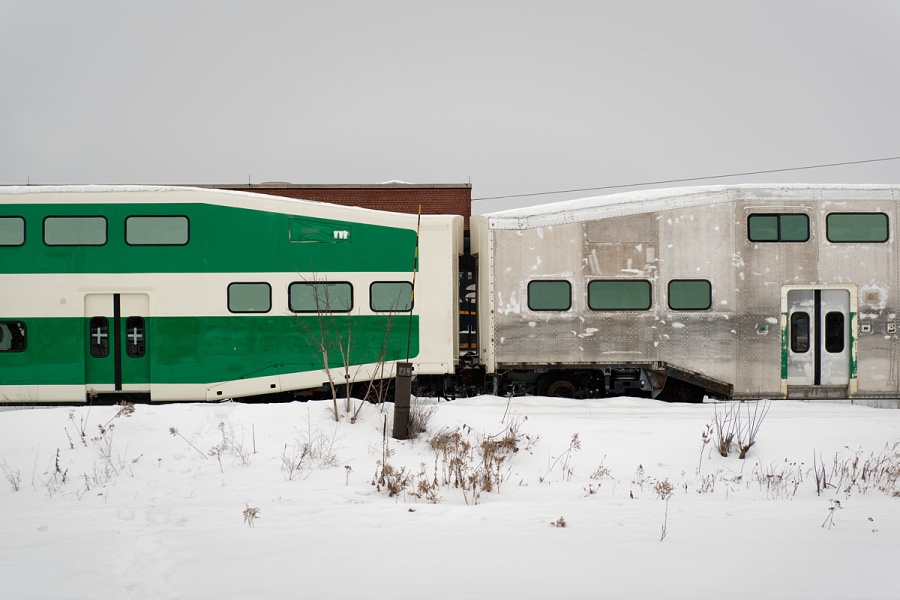 GO Train - North Bay - Ontario