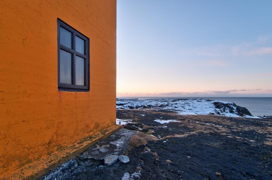 Lighthouse Window - Iceland
