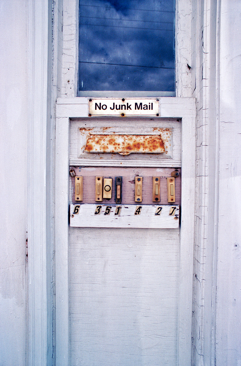No Junk Mail - North Bay - Ontario