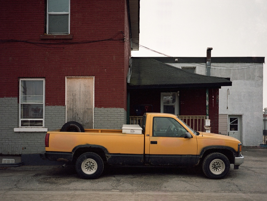 Yellow Truck - North Bay - Ontario
