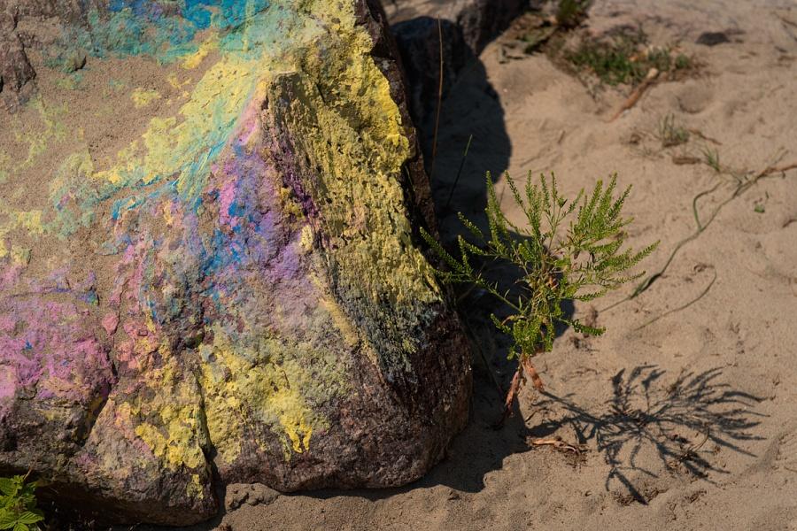 Colourful Rock - North Bay - Ontario