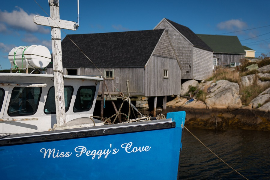 Miss Peggy's Cove - Peggy's Cove - Nova Scotia