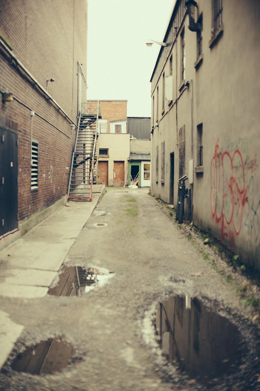 Alley - North Bay - Ontario